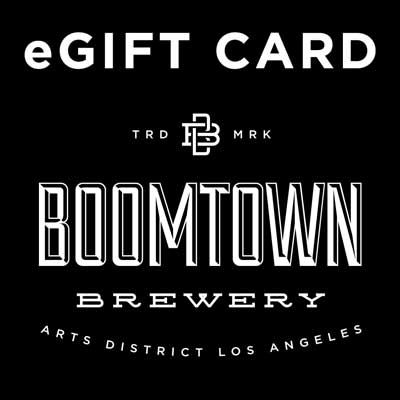 eGift Card text w/ Boomtown Logo